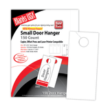 "Digital Door Hanger, 3-up on 11"" x 8.5"" sheet"