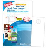"""Digital Door Hanger, 6-up on 11"""" x 17"""" sheet"""