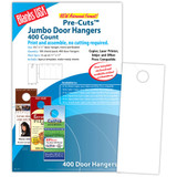 "Digital Door Hanger, 4-up on 11"" x 17"" sheet"