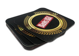 Fat Card™ Rounded Corner Drink Coaster - Sample Artwork