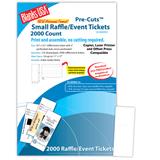 "Digital Event Ticket, 16-up on 17"" x 11"" sheet"