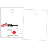 """Door Hanger, 1-up on 8.5"""" x 11"""" sheet"""