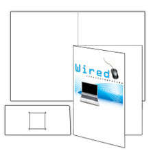Sample Artwork with Business Card Slits