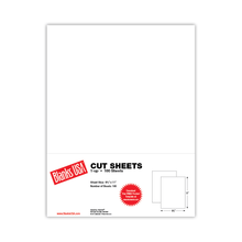 "8.5"" x 11"" Cut Sheets"