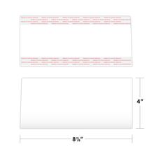 Folder Pocket Set Measurements