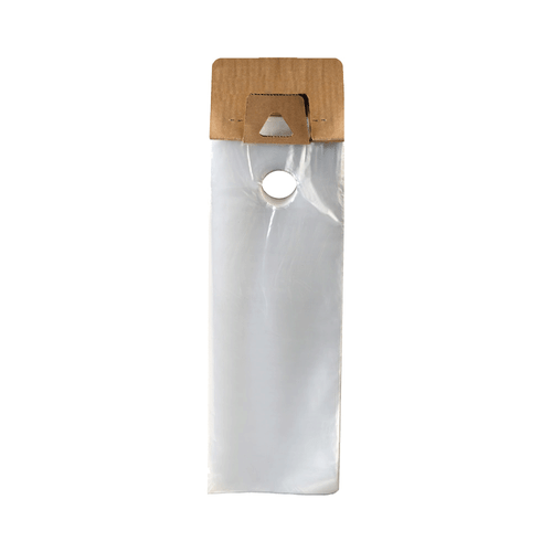 "Plastic Door Hanger Bag, 5.5"" x 15"""