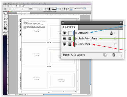 Adobe InDesign Example