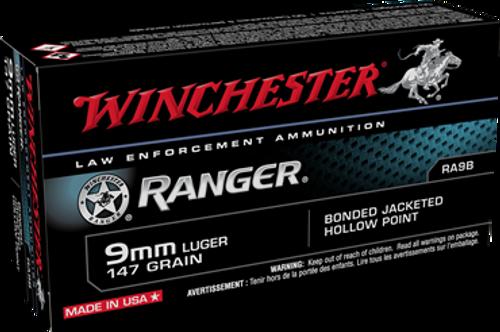 Winchester Ranger 9mm 147gr Bonded JHP