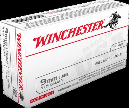 Winchester 9mm Luger 115gr FMJ - Catalog