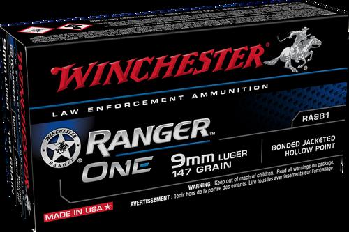 Winchester Ranger ONE 9mm 147gr Bonded Cavity Filled - Catalog