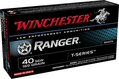 Winchester Ranger 40 S&W 165gr T-Series JHP - Catalog