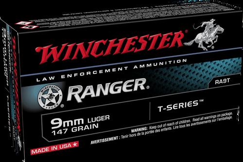 Winchester Ranger 9mm Luger 147gr T-Series JHP - Catalog