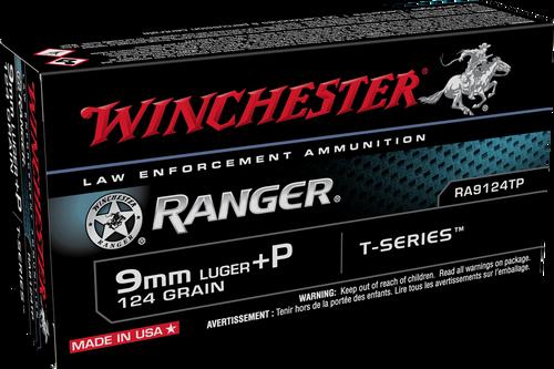 Winchester Ranger 9mm Luger +P 124gr T-Series JHP - Catalog
