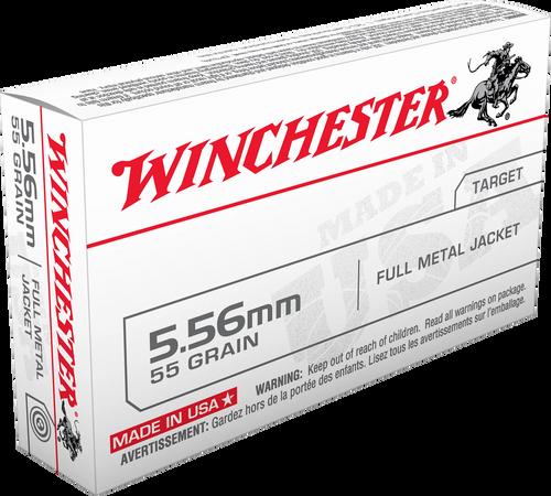 Winchester 5.56mm 55gr FMJ - Catalog