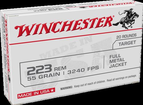 Winchester 223 Remington 55gr FMJ