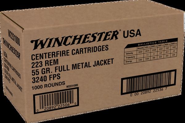 Winchester 223 Remington 55gr FMJ - Catalog