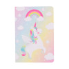 Rainbow unicorn pocket notebook | Sass & Belle