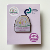 Kayla's Rainbow Appeal pin badge