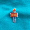 Ruby's Live Kindly, Live Loudly Fund pin badge