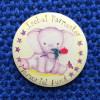 Isobel Parmenter Memorial Fund pin badge