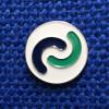CCLG icon pin badge