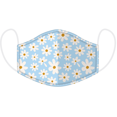 Daisy reusable washable face covering