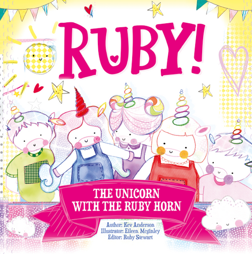 The Unicorn With The Ruby Horn storybook