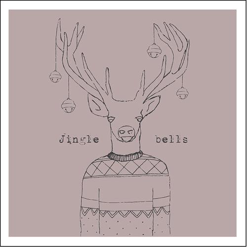 Jingle bells Christmas cards