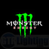 GTR Lighting LED Logo Projectors, Green Monster Energy Logo, #28