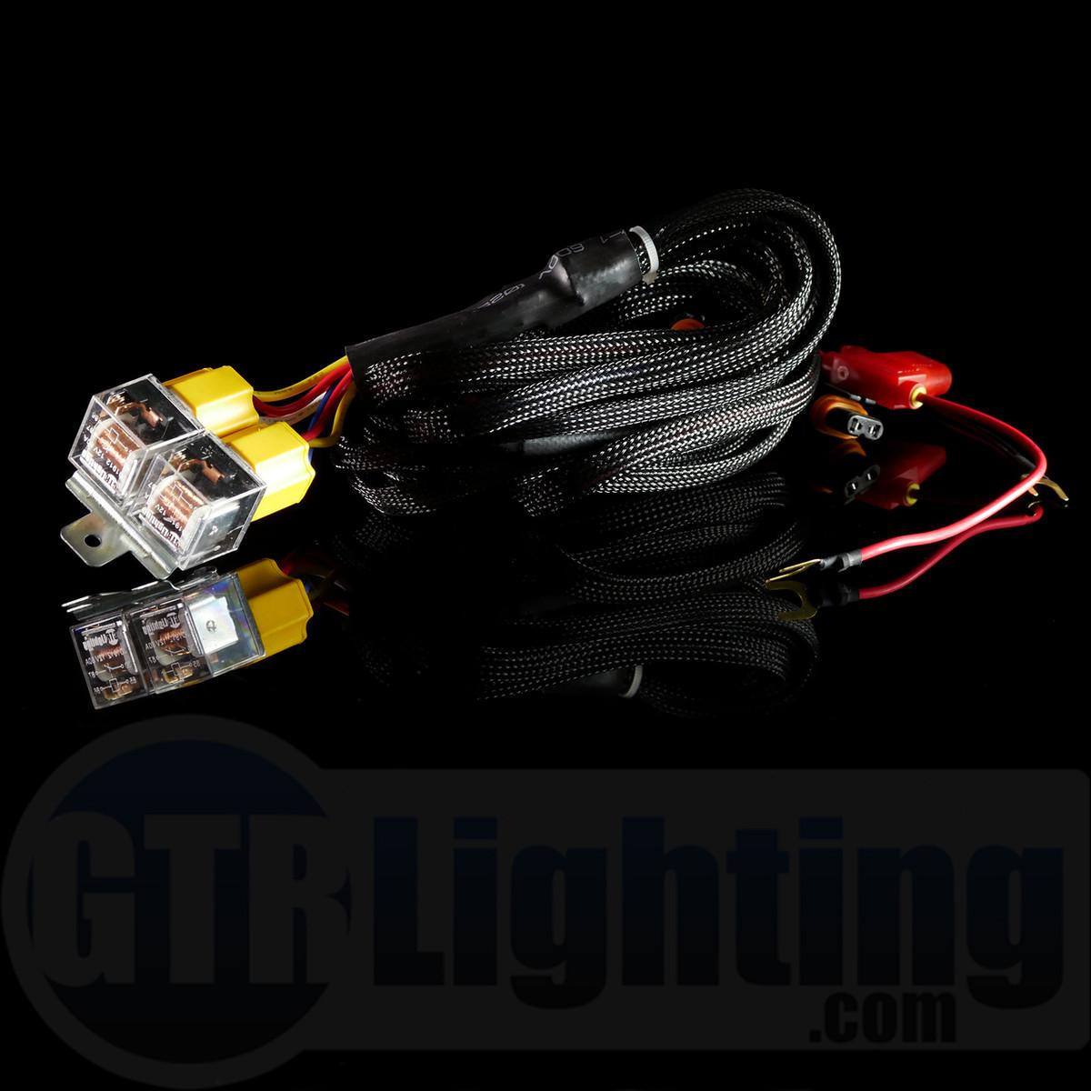 Gtr Lighting Single Beam Hid Relay Harness Wire