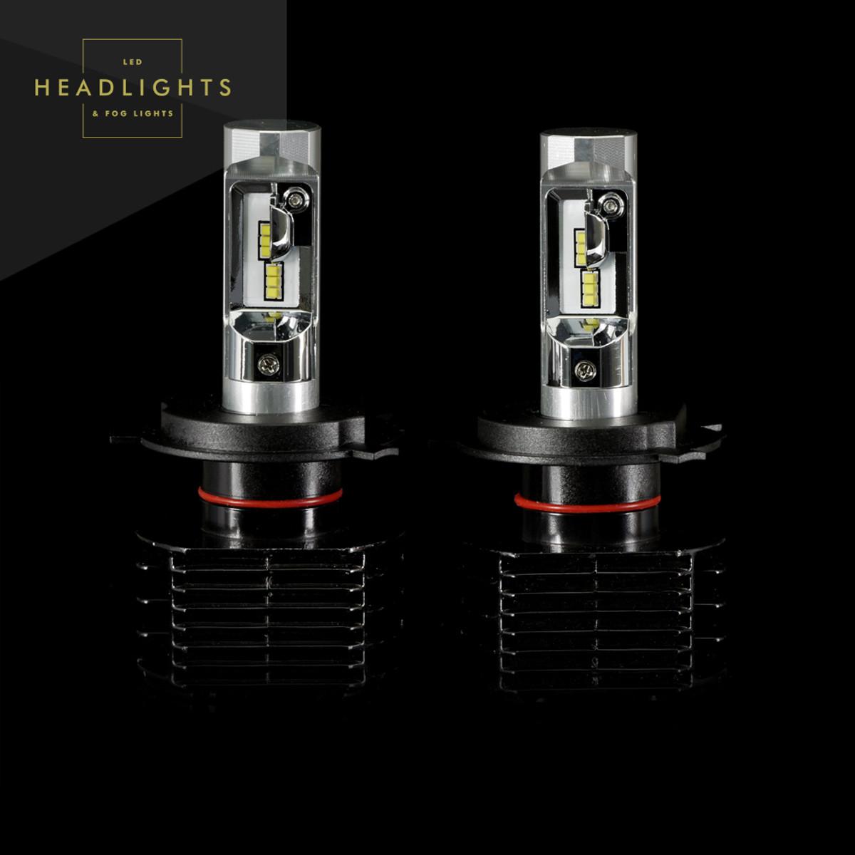 Gtr Lighting Ultra Series Led Headlight Bulbs H4 9003 3rd Oem Relay Wiring Harness System 4 Headl Light Bulb Generation