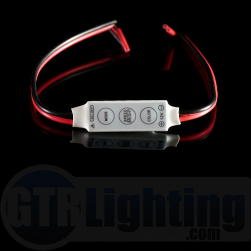 GTR Lighting Mini In-Line LED Controller: Single Color