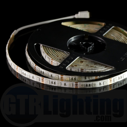 GTR Lighting 5m (16.5') Flexible LED Strip, Regular Style, Water Resistant, IP65