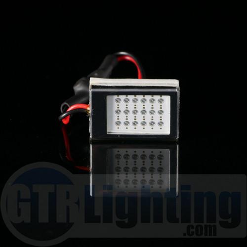 GTR Lighting Small Style Lightning Series LED Dome Light Board