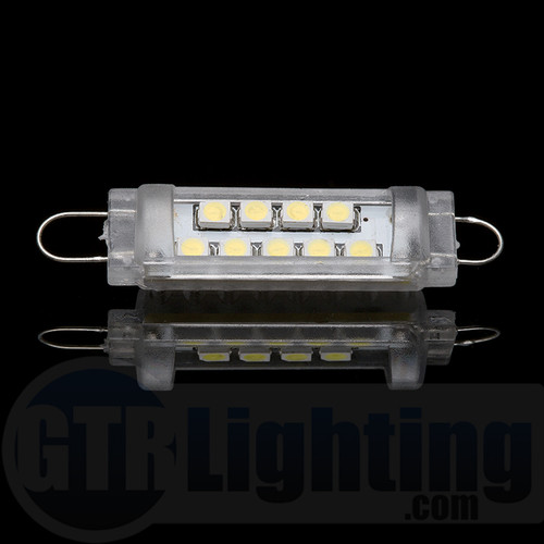 GTR Lighting 44mm Narrow Style Rigid Loop LED Festoon Bulb