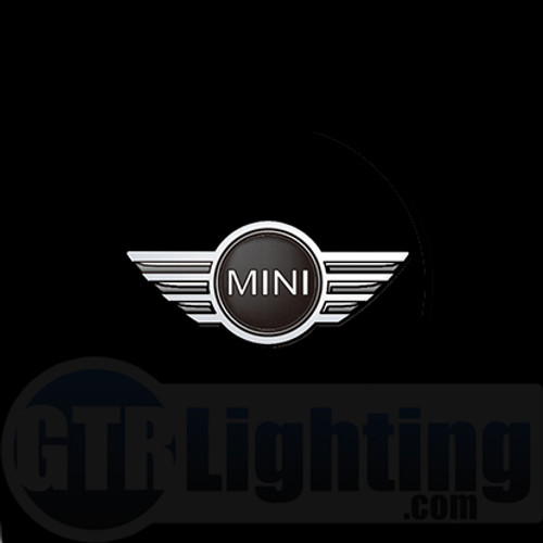 GTR Lighting LED Logo Projectors, Mini Cooper Logo, #44