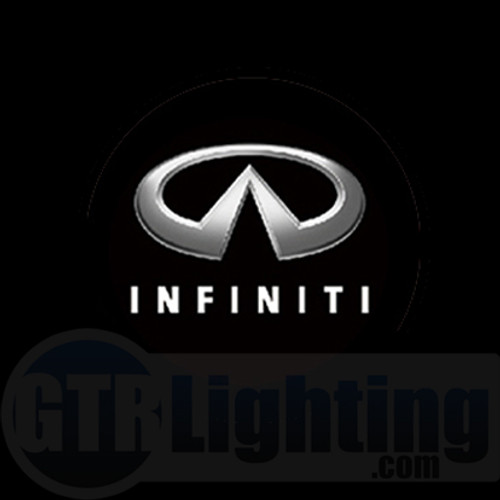 GTR Lighting LED Logo Projectors, Infiniti Logo, #7