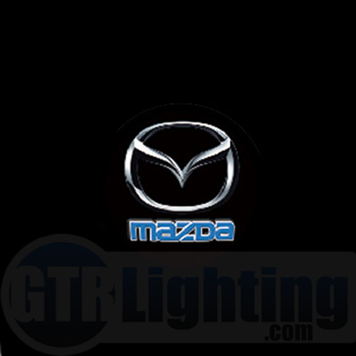 GTR Lighting LED Logo Projectors, Mazda Logo, #12