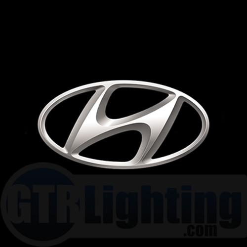 GTR Lighting LED Logo Projectors, Hyundai Logo, #67