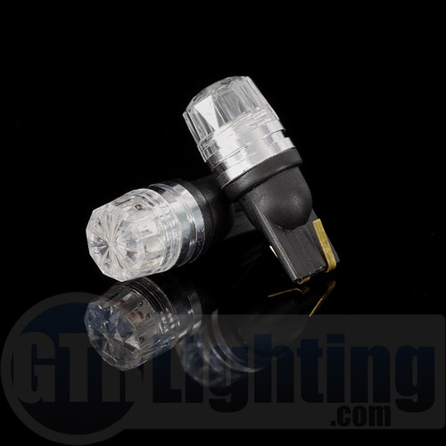 GTR Lighting Crystal Lens Diffuser T10 / 194 / 168 LED Bulbs