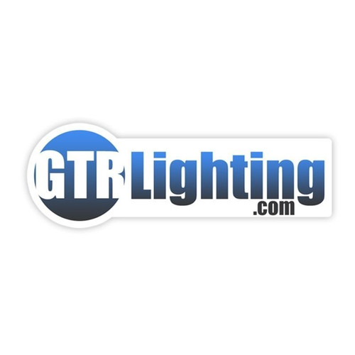 GTR Lighting Logo Sticker 5""
