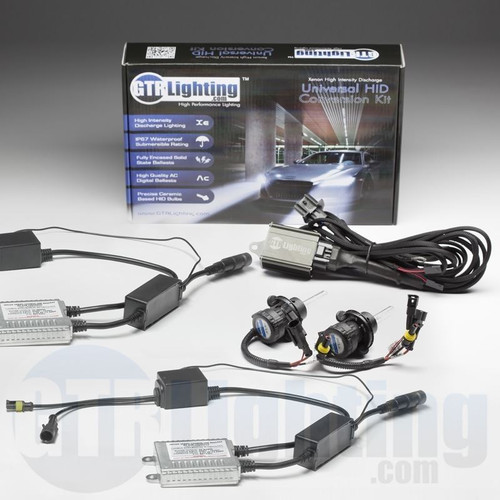 GTR Lighting 35w Hylux Dual Beam CANBUS Slim HID Conversion Kit - 4th Generation