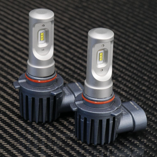 GTR Lighting CSP Mini LED Headlights, 9006 Bulbs