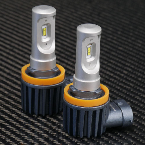 GTR Lighting CSP Mini LED Headlights, H11 Bulbs