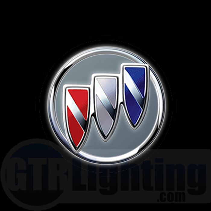 GTR Lighting LED Logo Projectors, Buick Logo, #46