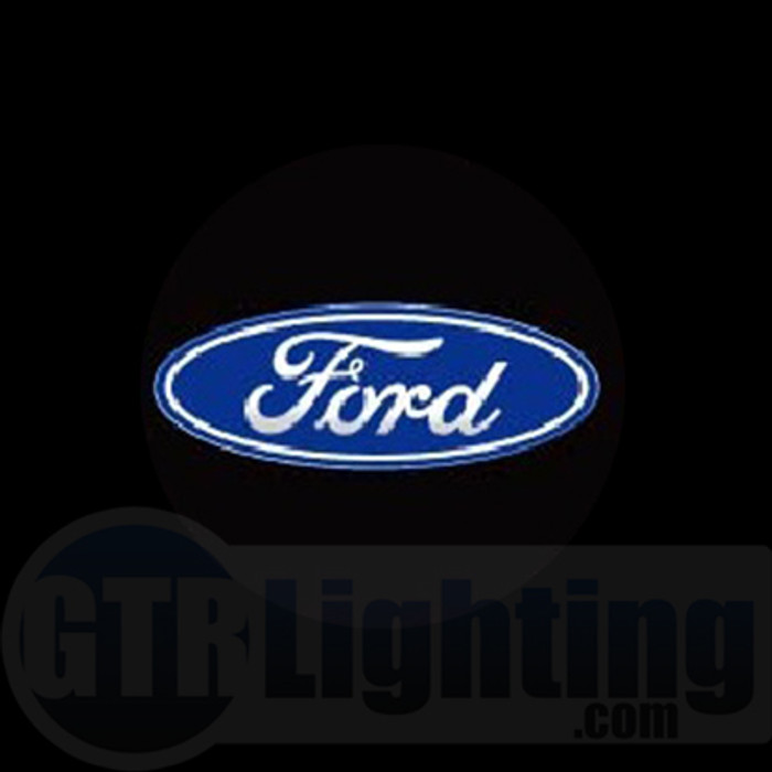 GTR Lighting LED Logo Projectors, Ford Logo, #8