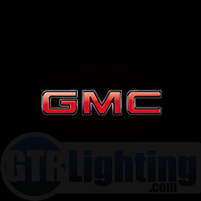 GTR Lighting LED Logo Projectors, GMC Logo, #17