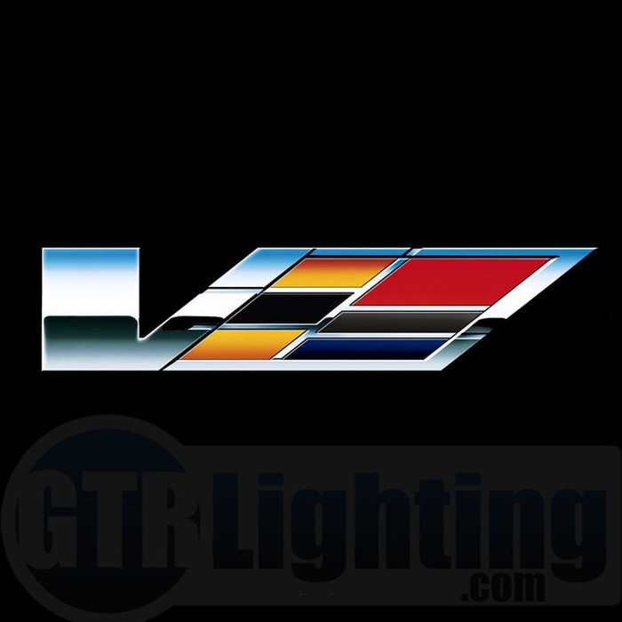 GTR Lighting LED Logo Projectors, Cadillac V Logo, #55