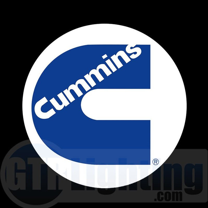 GTR Lighting LED Logo Projectors, Cummins Logo, #68