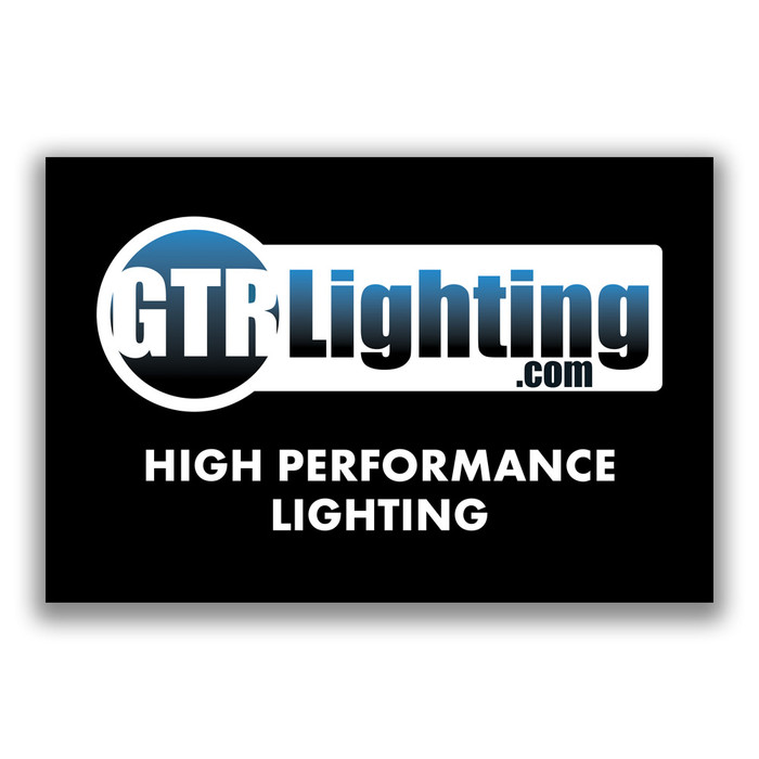 GTR Lighting Logo 5' Vinyl Shop Banner